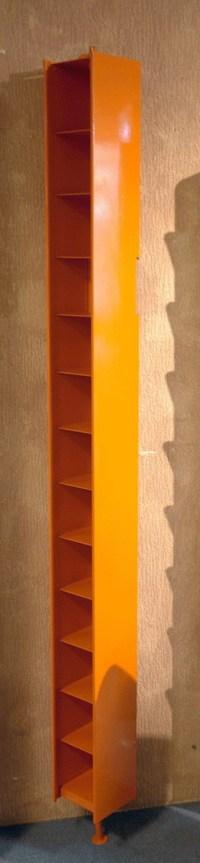 Jan Kurtz CD Ständer Schapp Stahlblech orange