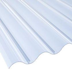 Lichtplatte 177/51 PVC Prof. 5 Stärke 1,4 mm Breite 0,92 m glasklar-bläulich