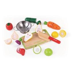 Obst- und Gemüse-Set Green Market mit Zubehör im Kasten