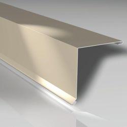 Pultabschluss 150 x 150 mm - Stahlblech 35 my Mattpolyester beschichtet