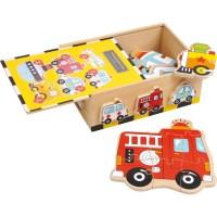 Puzzle-Box Fahrzeuge