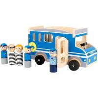 Spielauto Polizeibus XL
