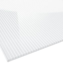 Stegplatte Polycarbonat 16 mm 1200 mm breit glasklar