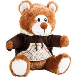 Teddybär mit Kapuzenpulli