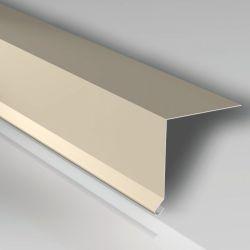 Traufenblech 155 x 40 mm - Aluminium 25my Polyesterlack beschichtet
