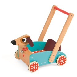 Wagen Hund Crazy Doggy (Holz)