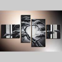 4 Leinwandbilder AFRIKA Baum (10) 120 x 70cm Handgemalt