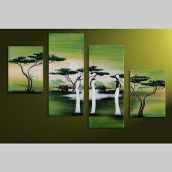4 Leinwandbilder AFRIKA Frau (7) 120 x80cm Handgemalt