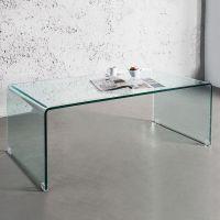 Couchtisch MAYFAIR Glas transparent 110cm