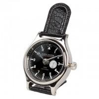 EICHHOLTZ Tischuhr Clock Marine Master Nickel