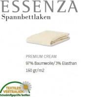 Essenza Spannbetttuch Premium Jersey CREAM