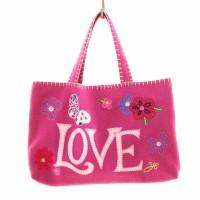 Jan Constantine Floral Love Bag pink