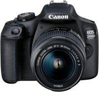 """Canon """"EOS 2000D EF-S 18-55 IS II Value Up Kit"""" Spiegelreflexkamera (EF-S 18-55 IS II, 24,1 MP, NFC, WLAN (Wi-Fi)"""