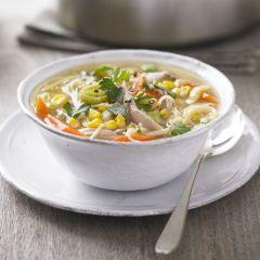 Брза супа со пилешко месо