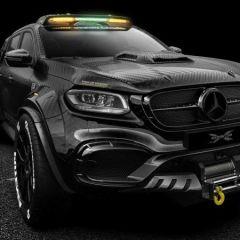 Mercedes X класа – чудовиште со 6 тркала