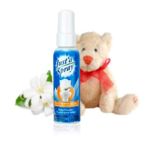 toilet spray 55 ml, baby powder, toilet spray, poop spray, bathroom spray, stop odors, bathroom freshener, poopourri,poo pourri, vipoo, vippoo, vip poo, before you go, poop smell, bathroom smell, odor eliminator, bathroom odors