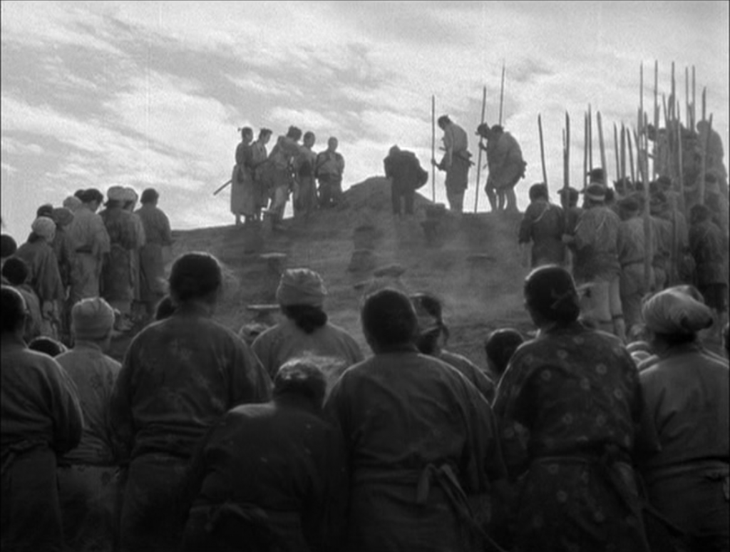 Still from Seven Samurai - Foreign Film from Japan