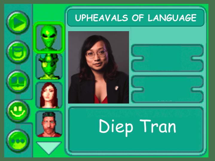 Panelist card for Diep Tran