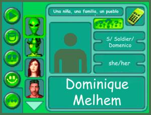 Performer Card for Dominique Melhem