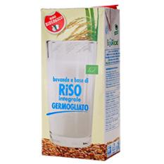 比較してください。せっかく飲むなら、  天然GABA1280mgも!有機発芽玄米ギャバライスミルク