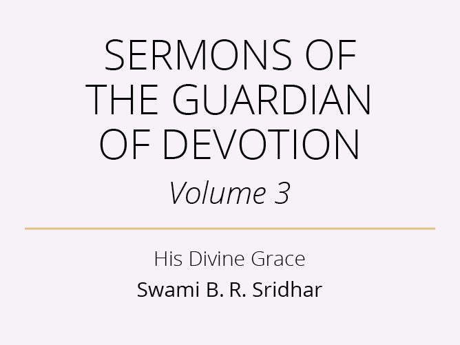 Sermons of the Guardian of Devotion-iii