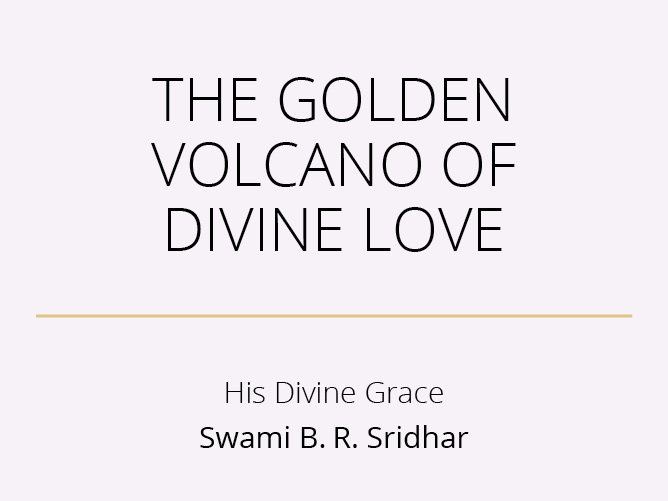 The Golden Volcano of Divine Love