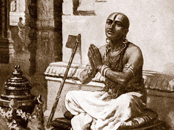 Ramanuja-in-Prayer