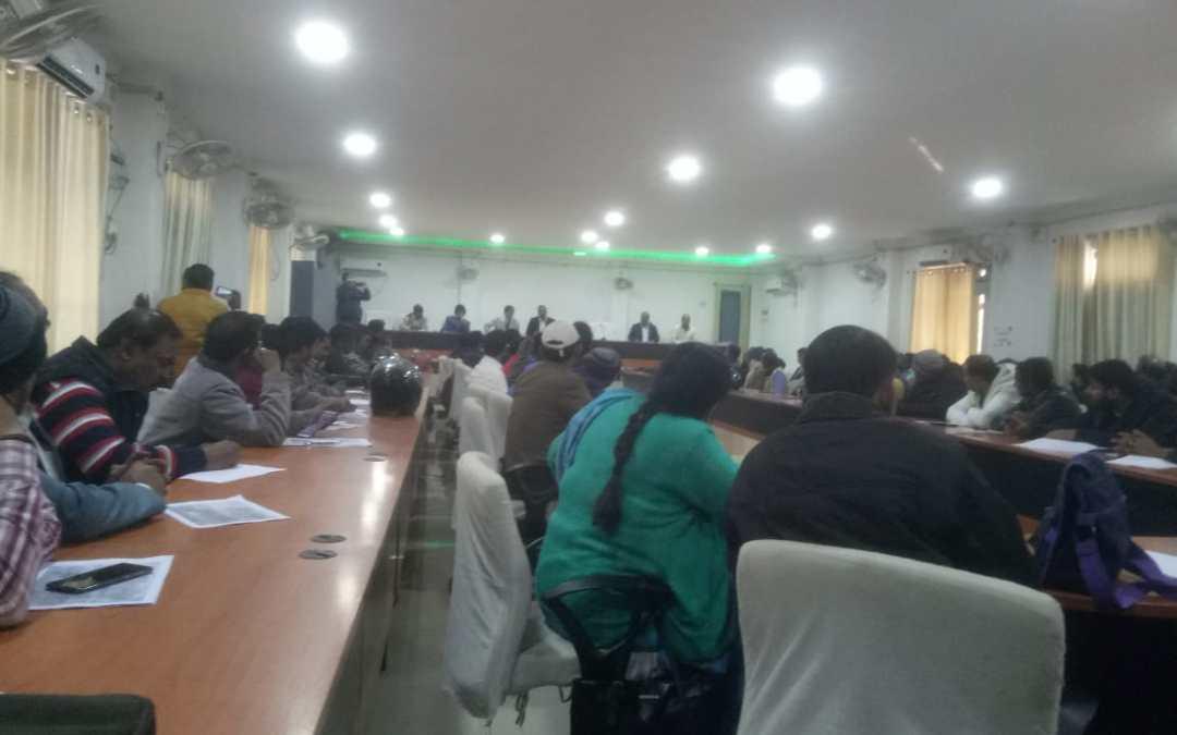 地方治安判事での会議