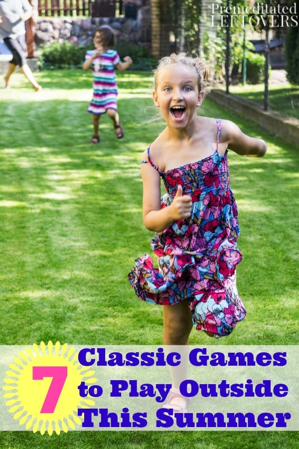 Fun Games Kids Play Outside