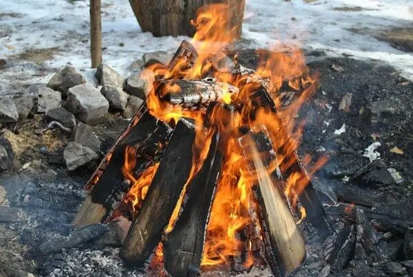 types of campfires