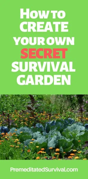 secret survival garden
