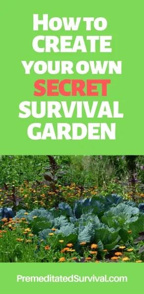 secret survival garden