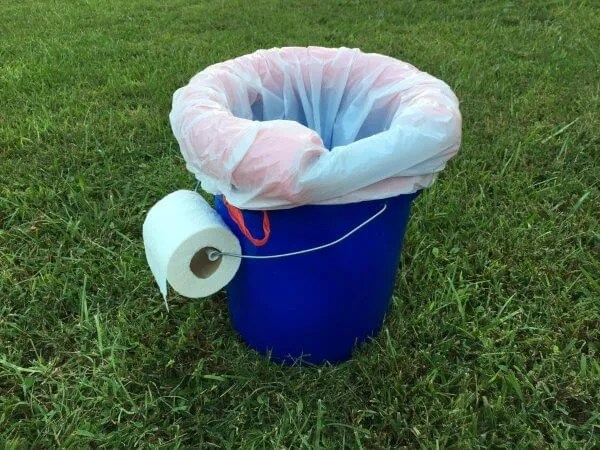 How to Make a Quick and Easy DIY Toilet for Camping