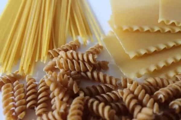 survival food plan pasta