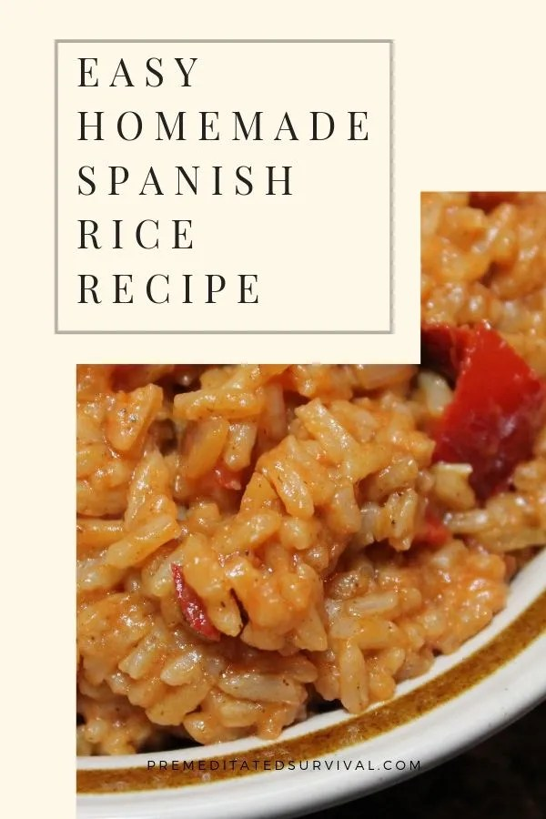 homemade spanish rice