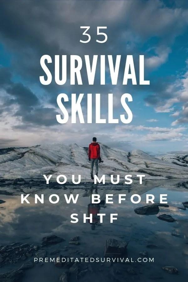 survival skills for shtf