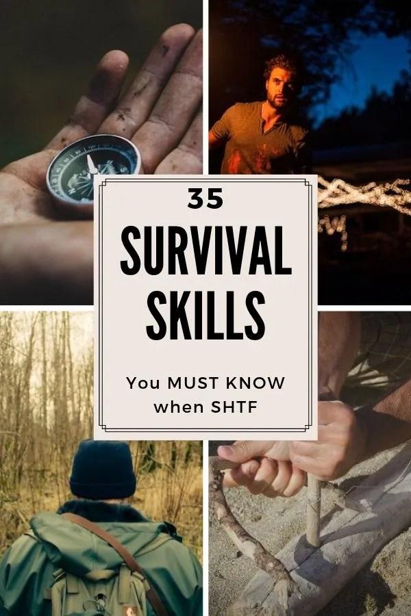 35 SHTF survival skills