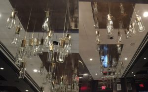 Premier Lights Vancouver Trump Tower Lobby Chandeliers Close