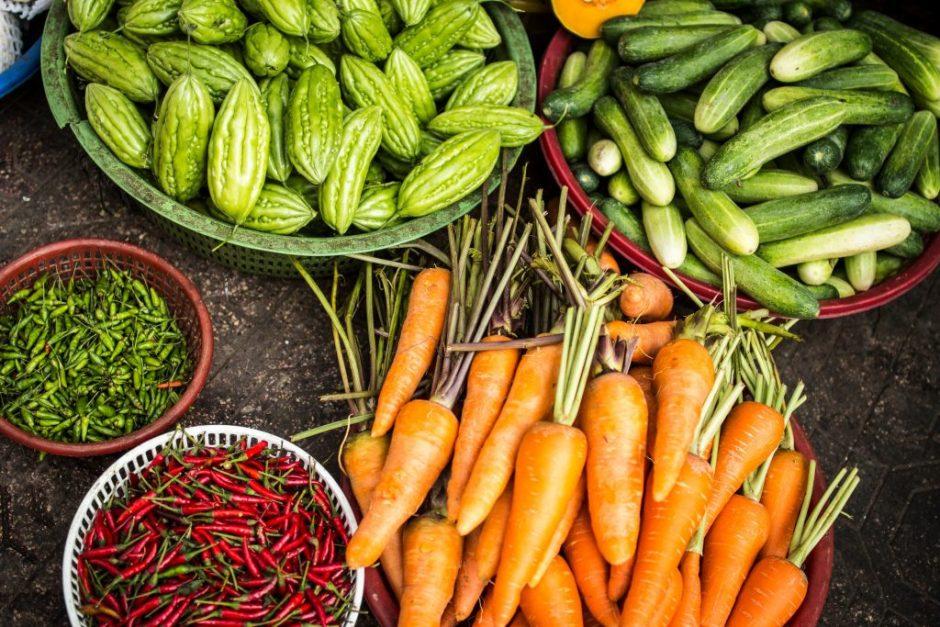 Légumes, Marathon, Coures à pied, habitudes
