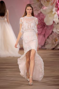 Ines Di Santo Couture Bridal Collection Spring/Summer 2017 (Photo by Randy Brooke/Getty Images for Ines Di Santo)