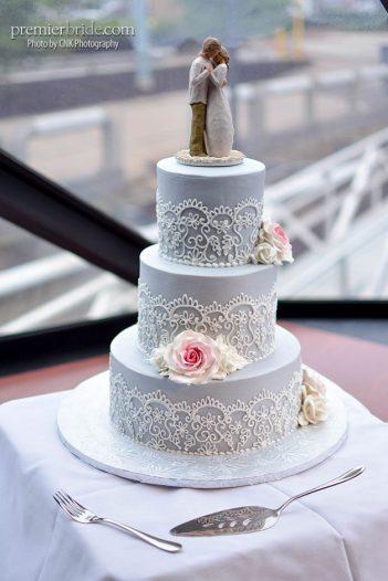 Wedding cake by Bredenbeck's Bakery