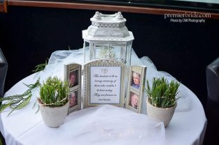 Lantern for missing wedding guests