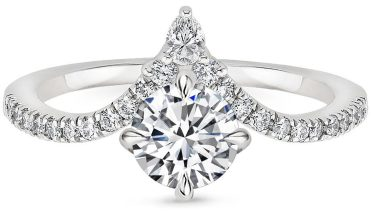 Nouveau Diamond Ring