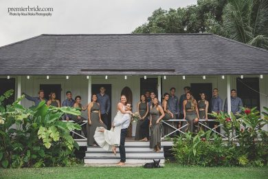 Wedding Party Hawaii Bungalow