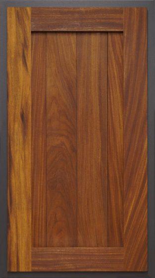 Plank Center Panel Gray Slate
