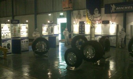 Michelin Tyres manufacturing facility in Stoke-on-Trent