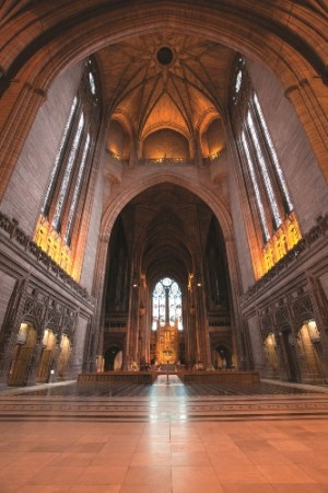 Liverpool Anglican Cathedral- Stannah, bespoke glass