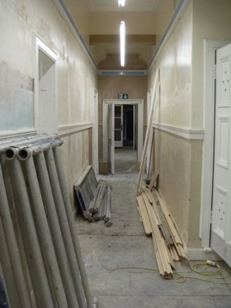 City Chambers in Dunfermline Refurbishment
