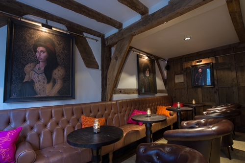 Henry Tudor House- restaurant and bar- Shrewsbury