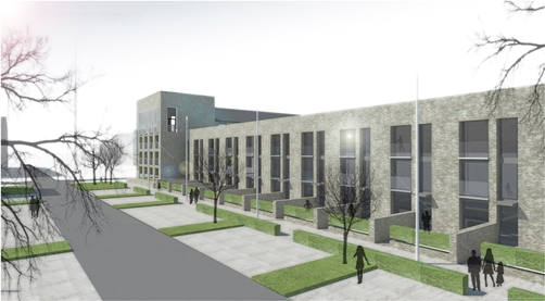 Laurieston area of Glasgow  Regeneration - Housing